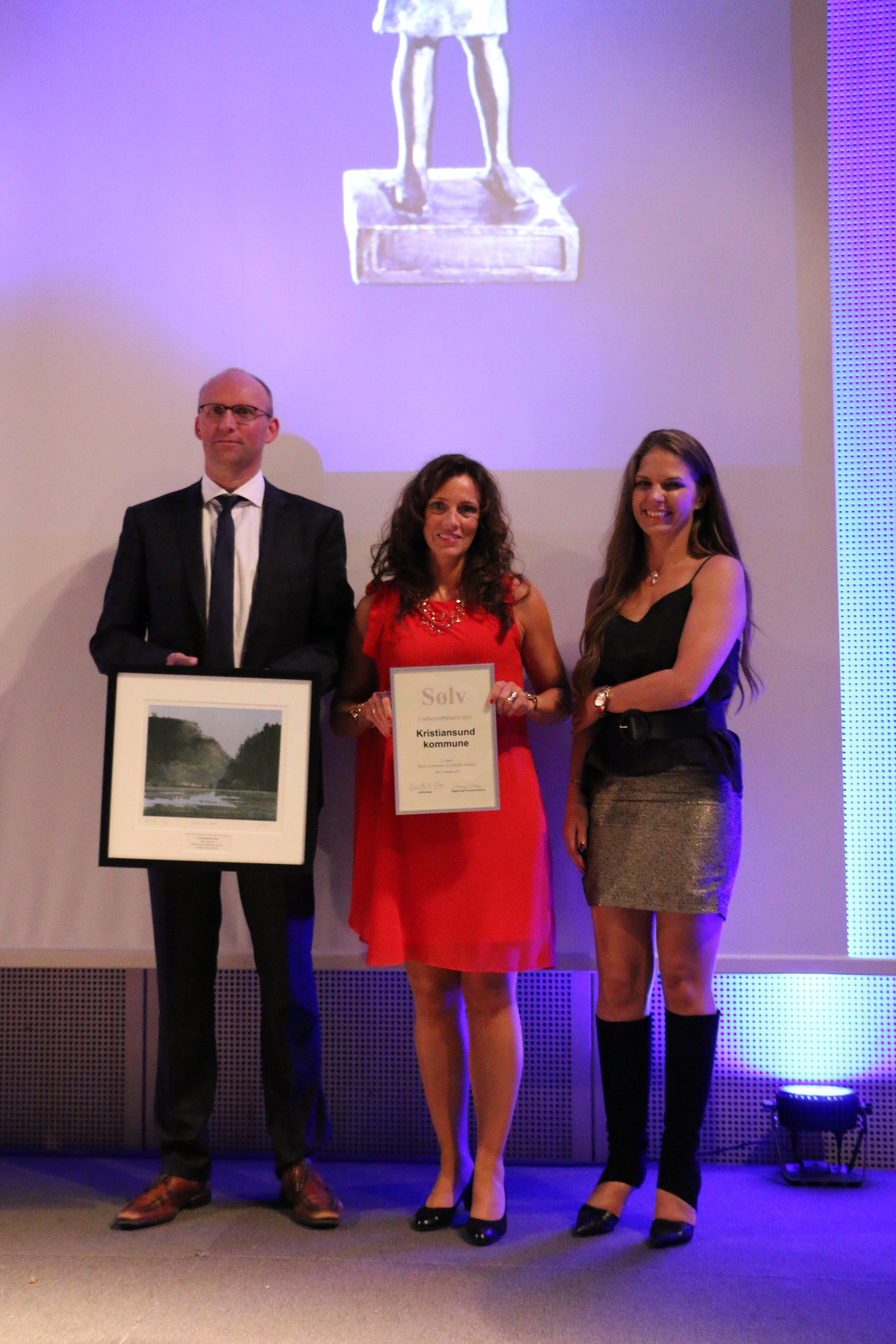 Farmandprisen Beste Årsrapport 2015 - Beste Kommune/fylkeskommune nr 2: Kristiansund kommune