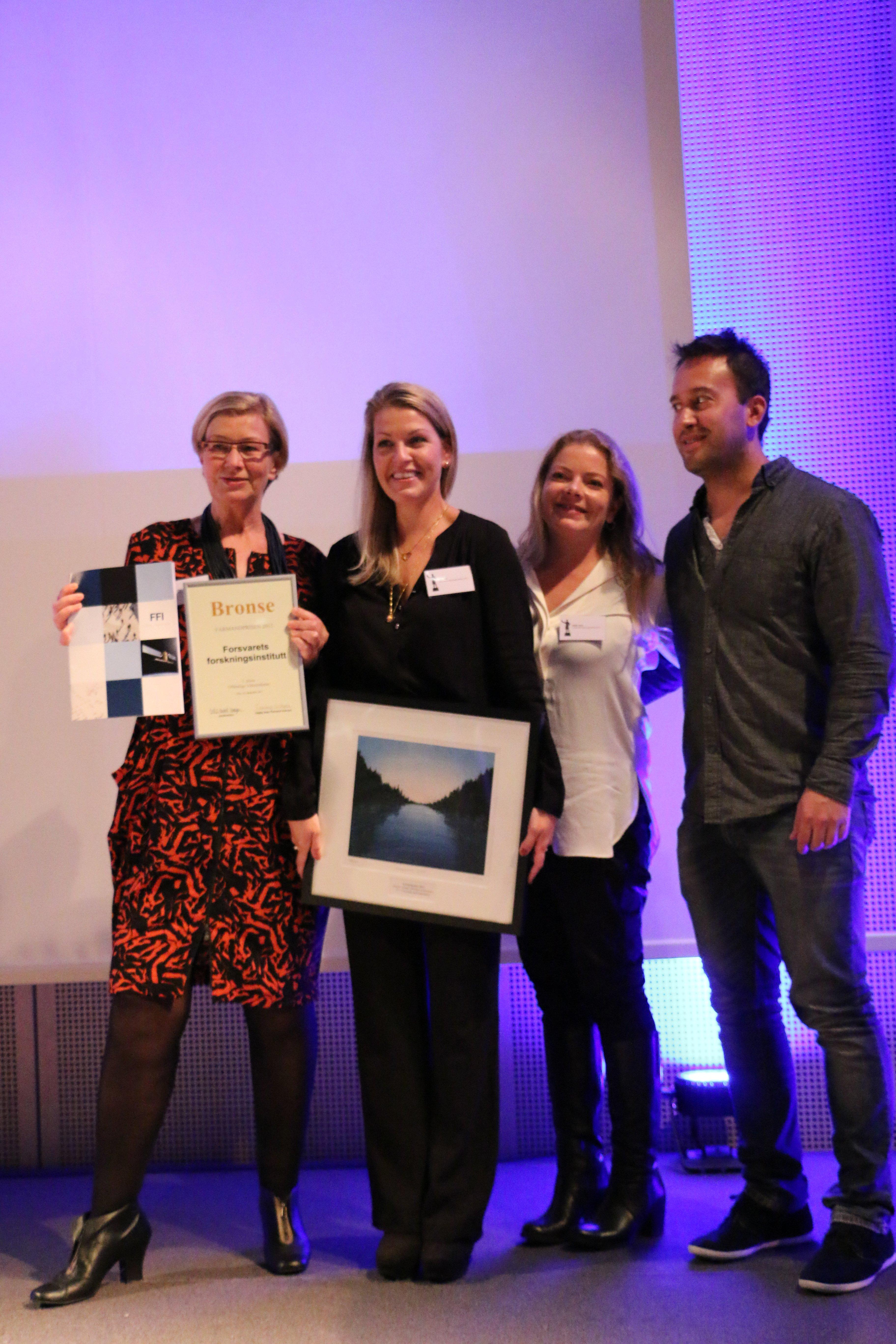 Farmandprisen Beste Årsrapport 2015 - Offentlige virksomheter nr 3: Forsvarets forskninginstitutt (FFI)