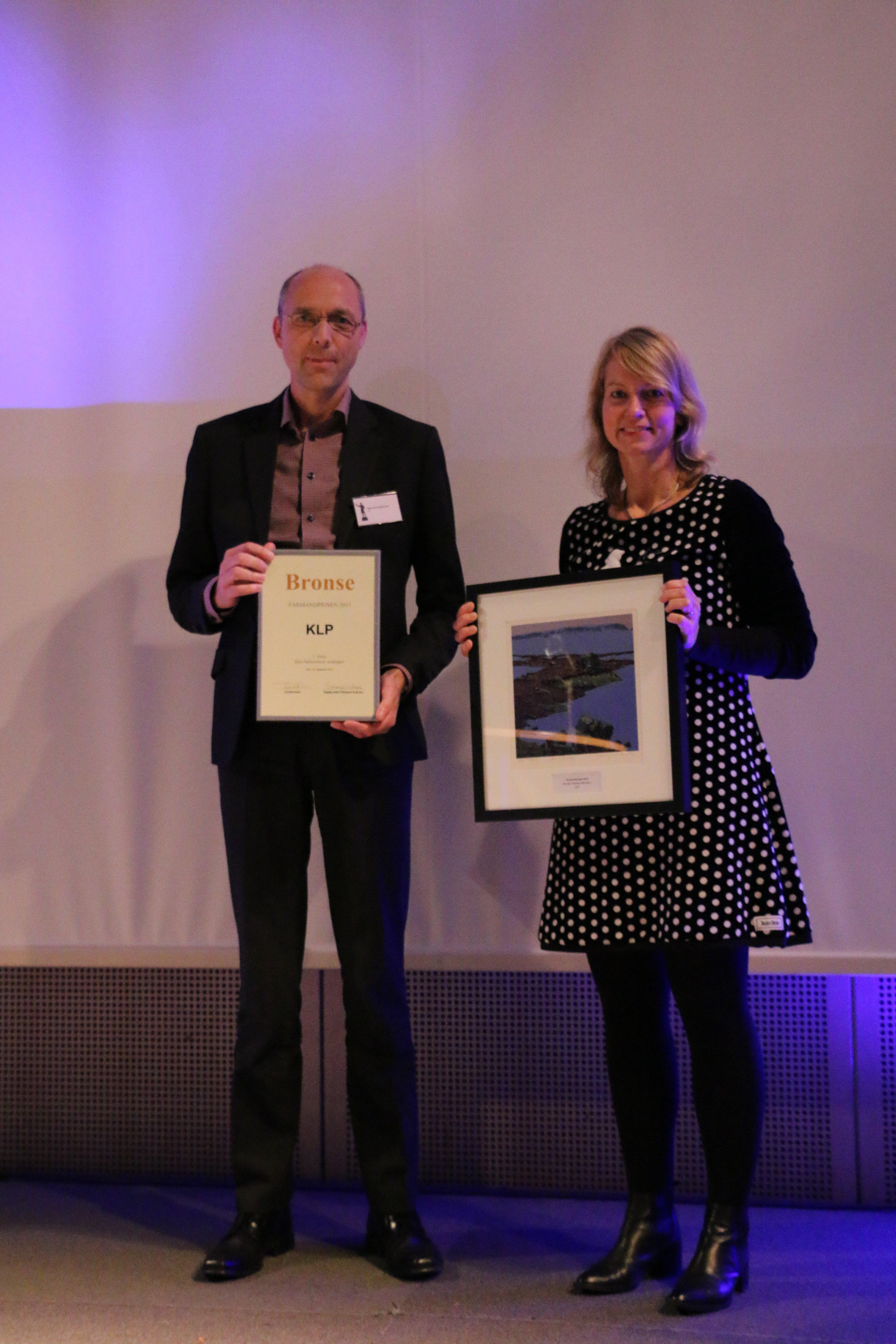 Farmandprisen Beste Årsrapport 2015 - Ikke-børsnoterte selskaper nr 3: KLP