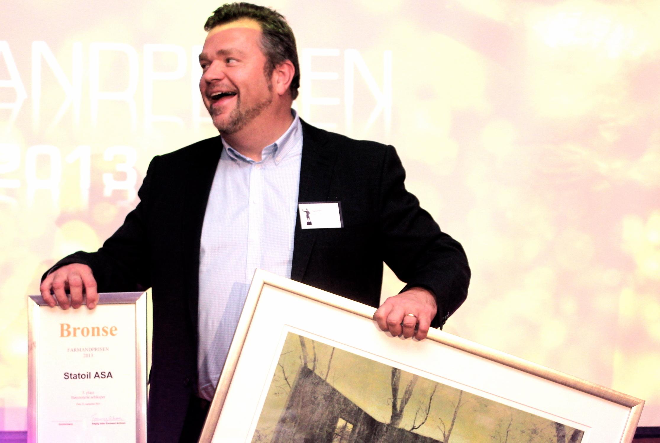 Farmandprisen Beste Årsrapport 2013 - Børsnoterte selskaper nr 3:Statoil