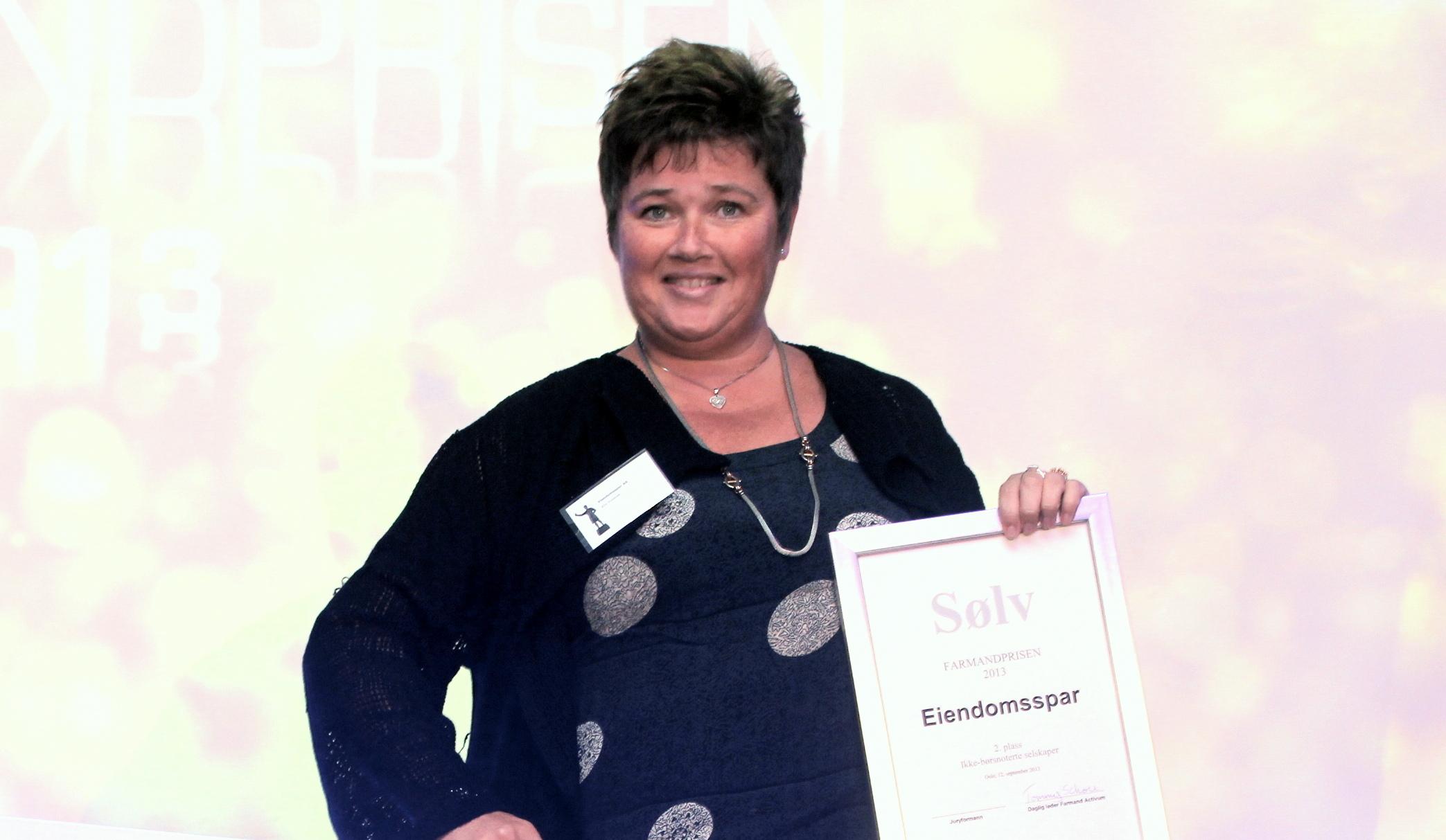 Farmandprisen Beste Årsrapport 2013 - Ikke børsnoterte selskaper nr 2: Eiendomsspar
