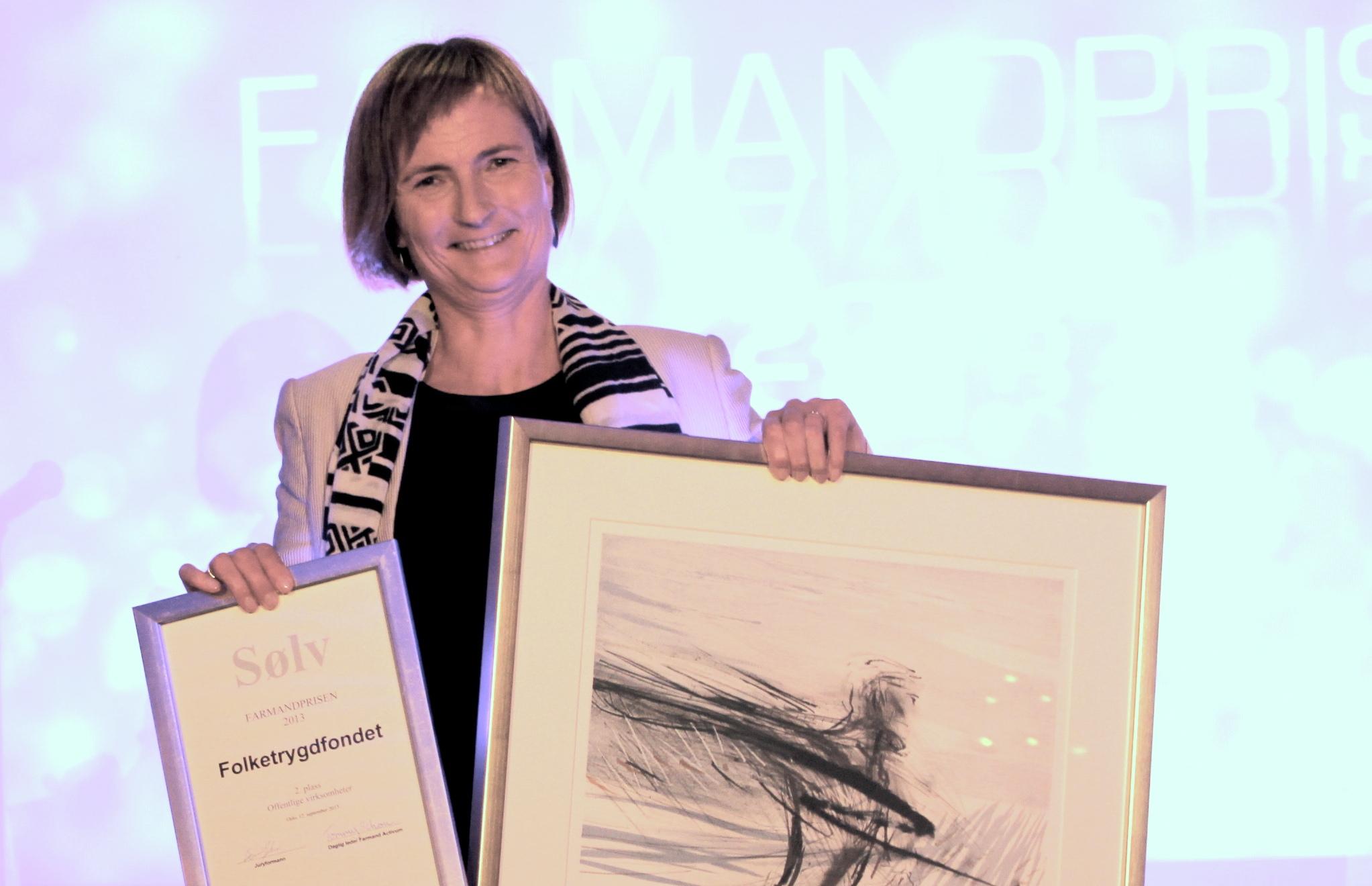 Farmandprisen Beste Årsrapport 2013 - Offentlige virksomheter nr 2: Folketrygdfondet
