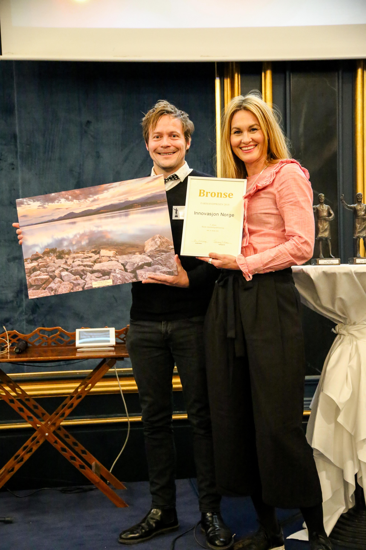 Årsrapport Beste digitale årsrapport - 3. plass Innovasjon Norge