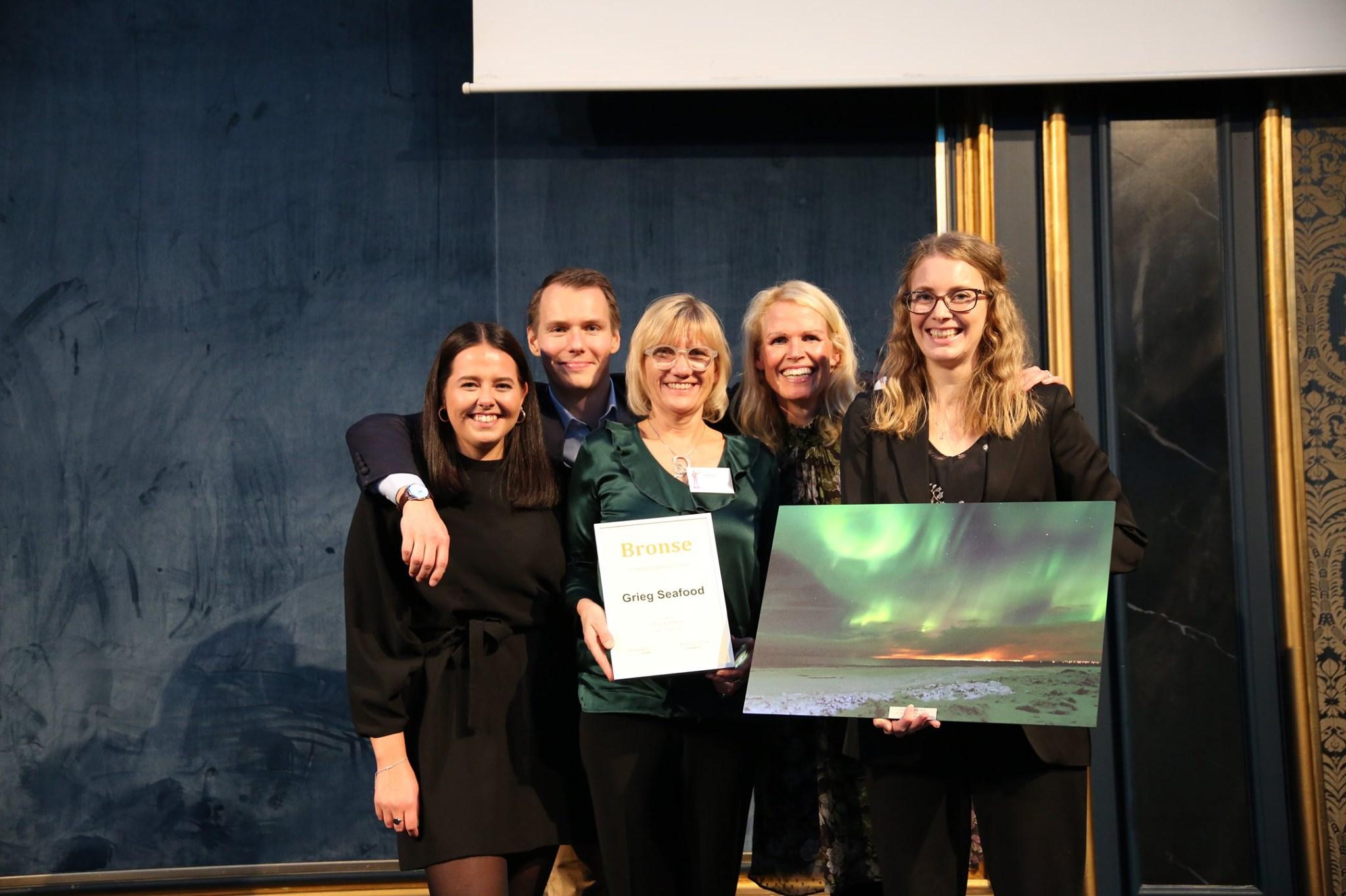 Årsrapport Ide & design - 3. plass Grieg Seafood