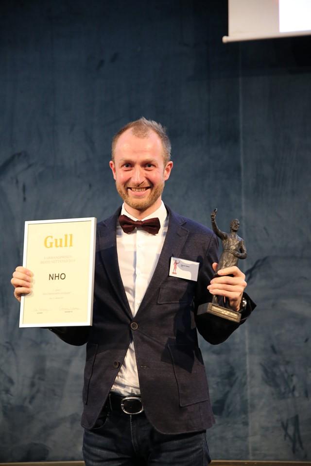 Nettsted Ikke-børsnoterte selskaper - 1. plass NHO med nho.no