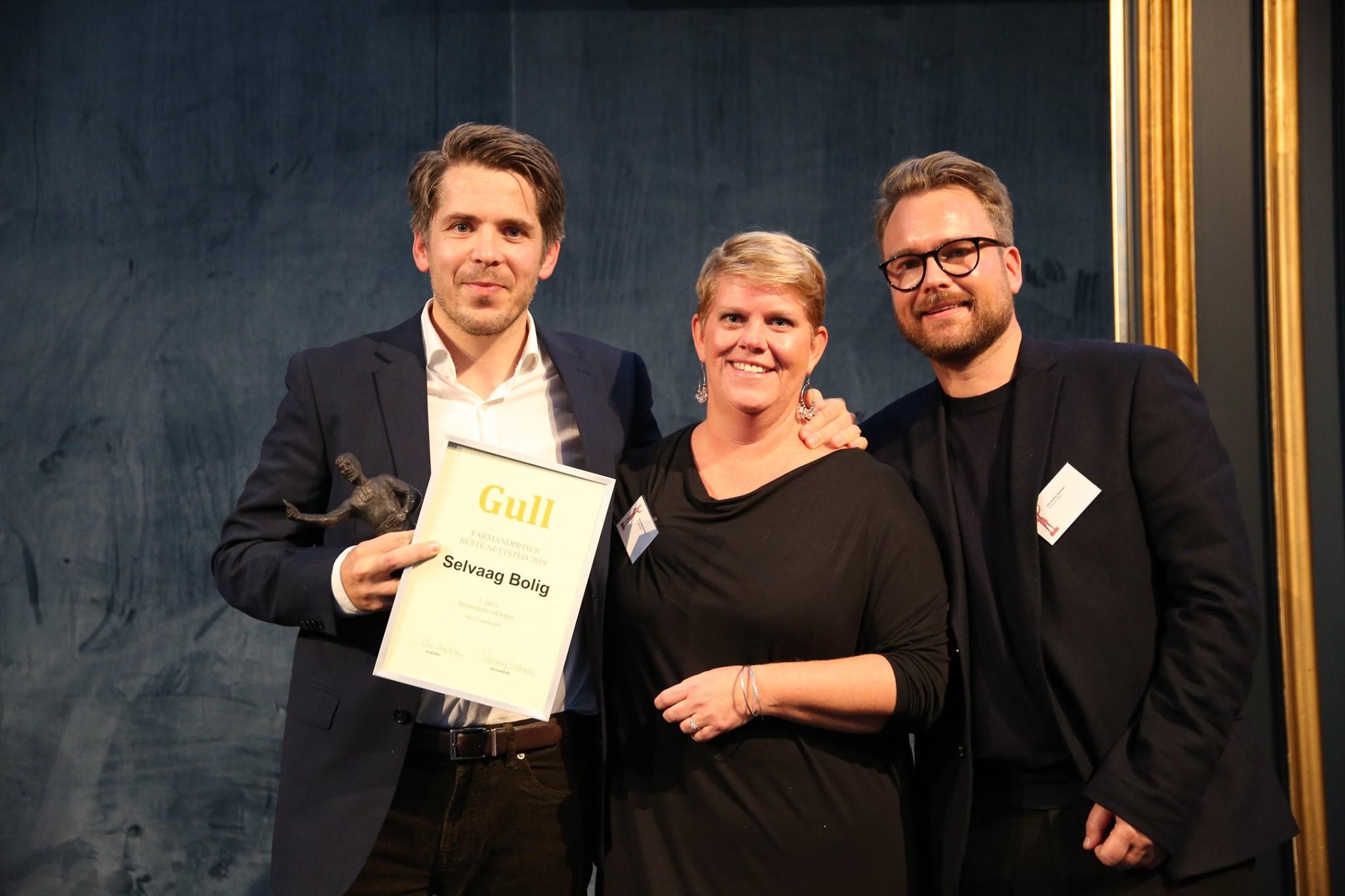 Nettsted Børsnoterte selskaper - 1. plass Selvaag Bolig med selvaagbolig.no
