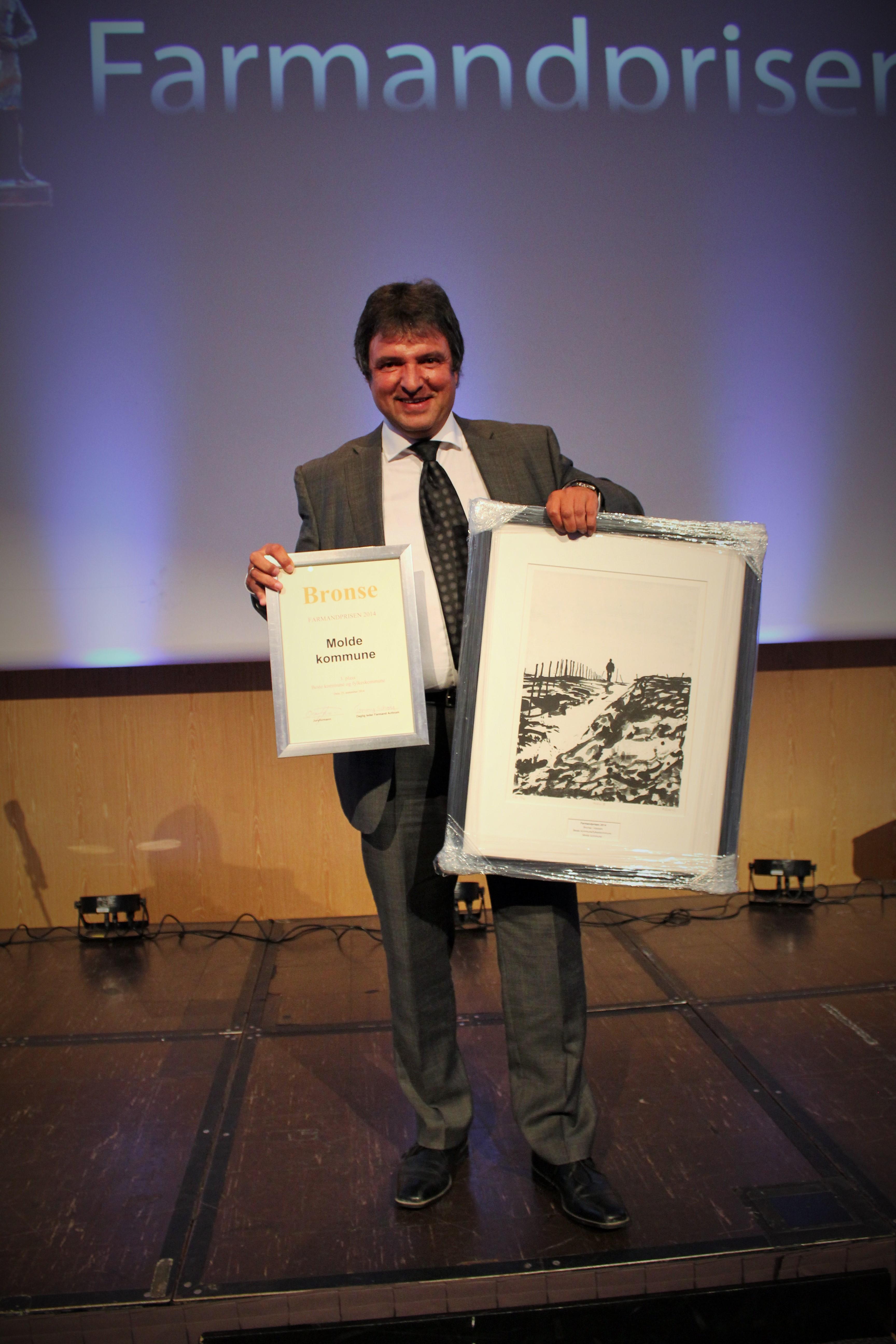 Farmandprisen Beste Årsrapport 2014 - Beste Kommune/fylkeskommune nr 3: Molde kommune