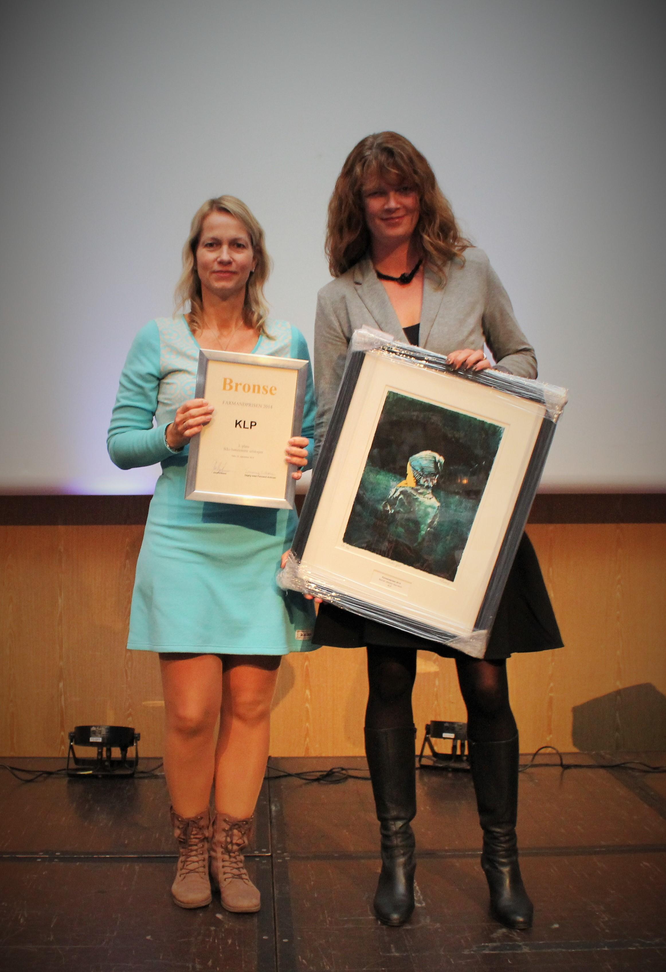 Farmandprisen Beste Årsrapport 2014 - Ikke-børsnoterte selskaper nr 3: KLP