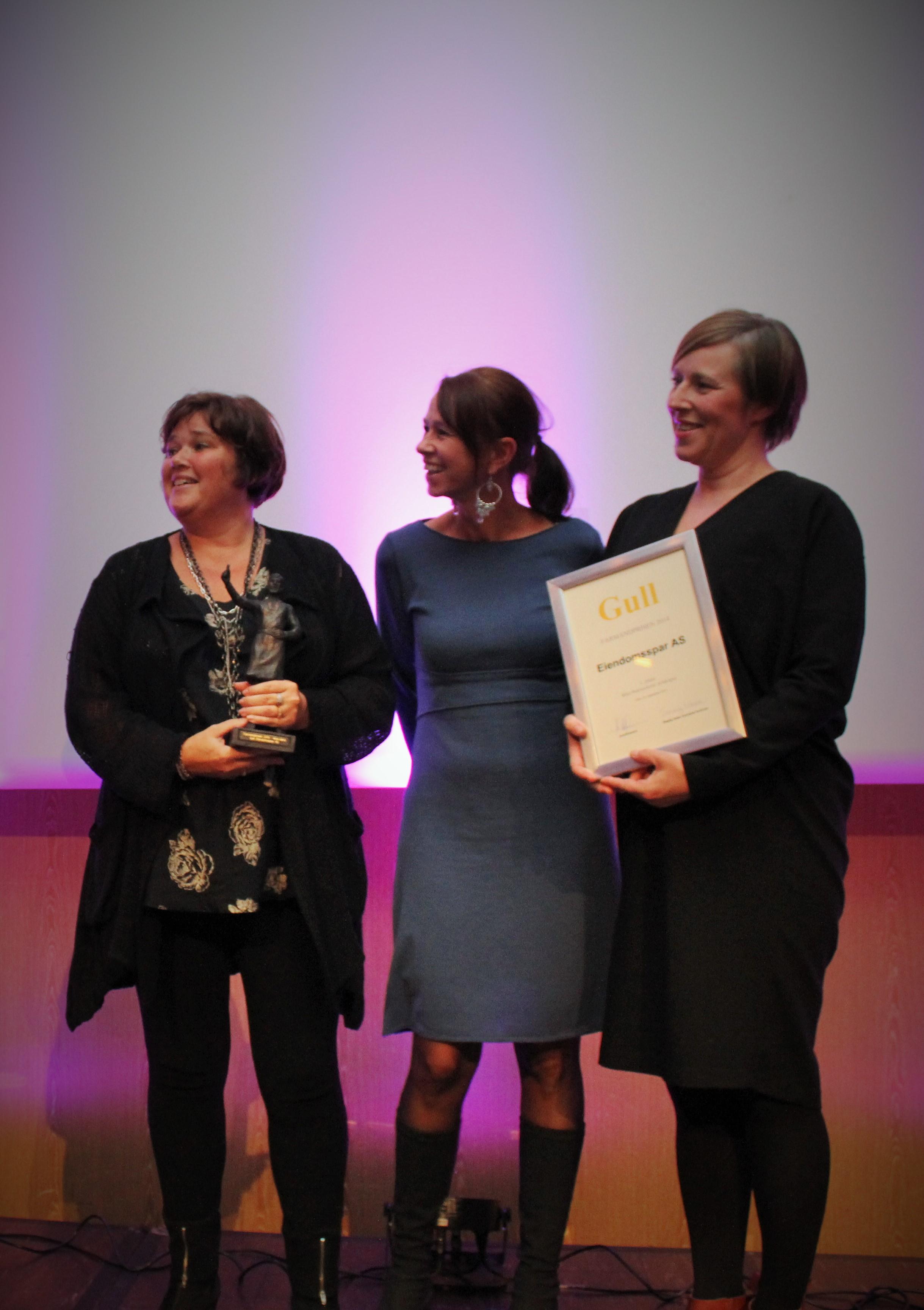 Farmandprisen Beste Årsrapport 2014 - Ikke-børsnoterte selskaper nr 1: Eiendomsspar