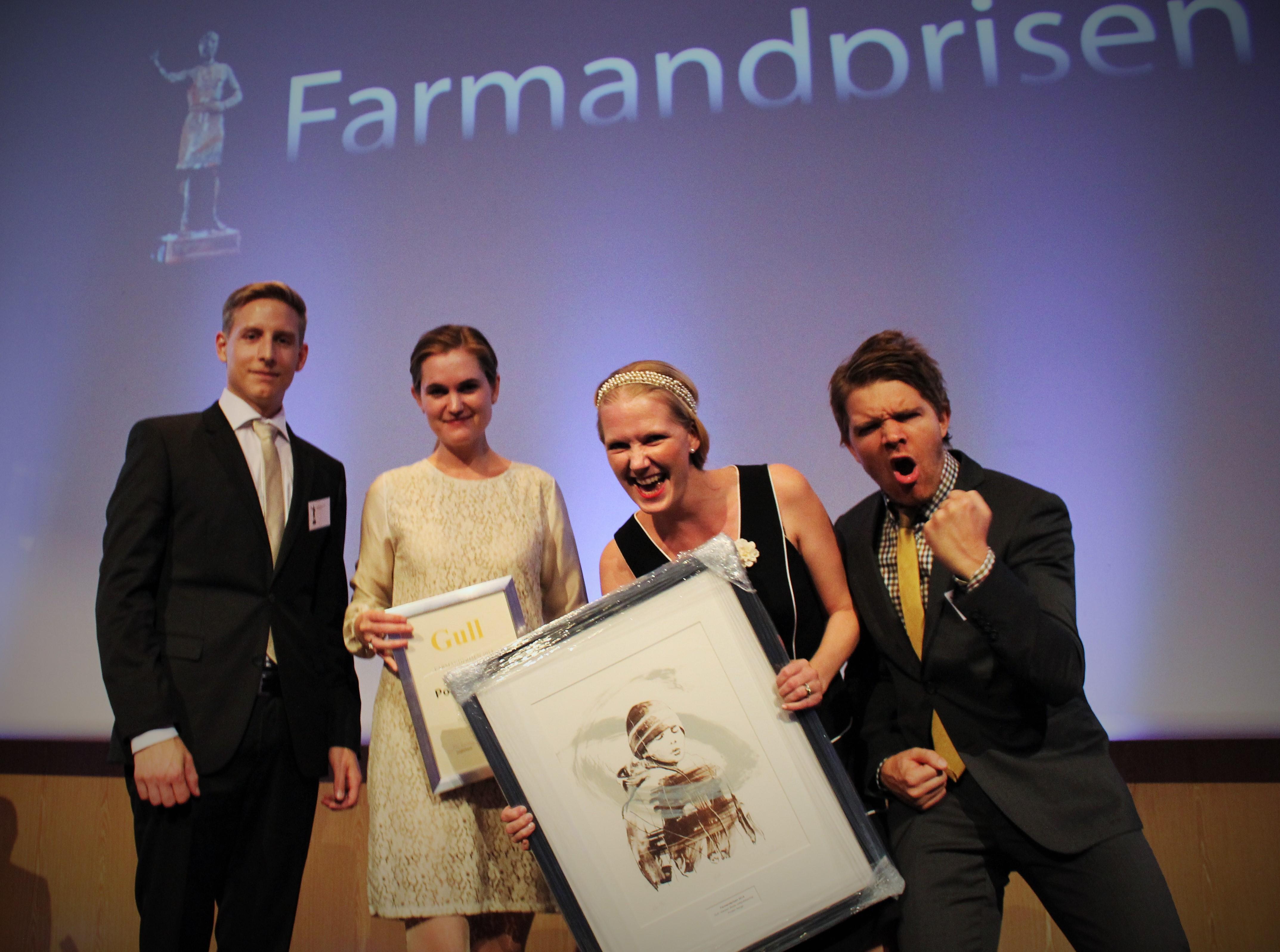 Farmandprisen Beste Årsrapport 2014 - Beste internettpublisering nr 1: Posten Norge