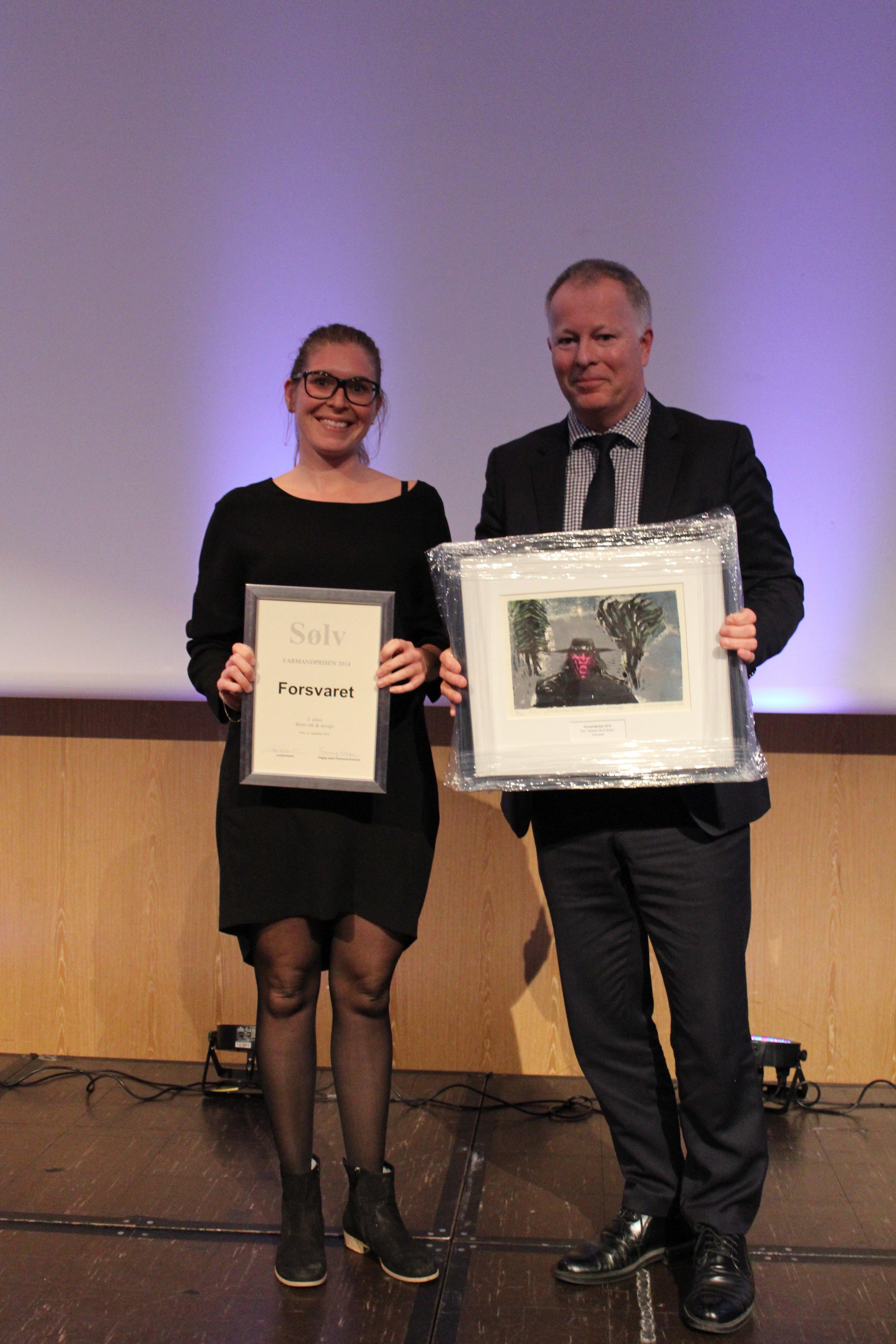 Farmandprisen Beste Årsrapport 2014 - Beste Ide & design nr 2: Forsvaret