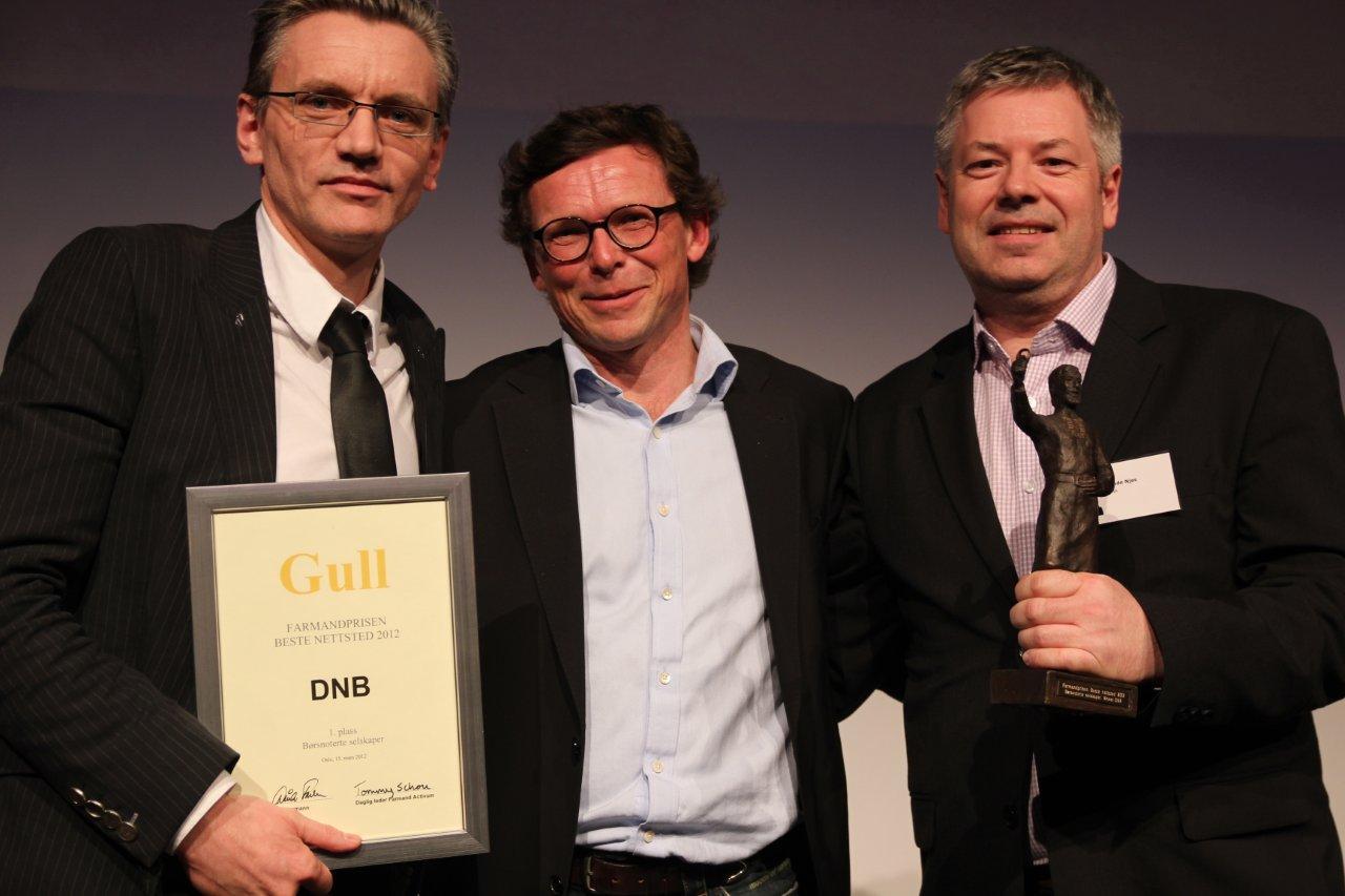 DNB - 1. plass i Børsnoterte selskaper