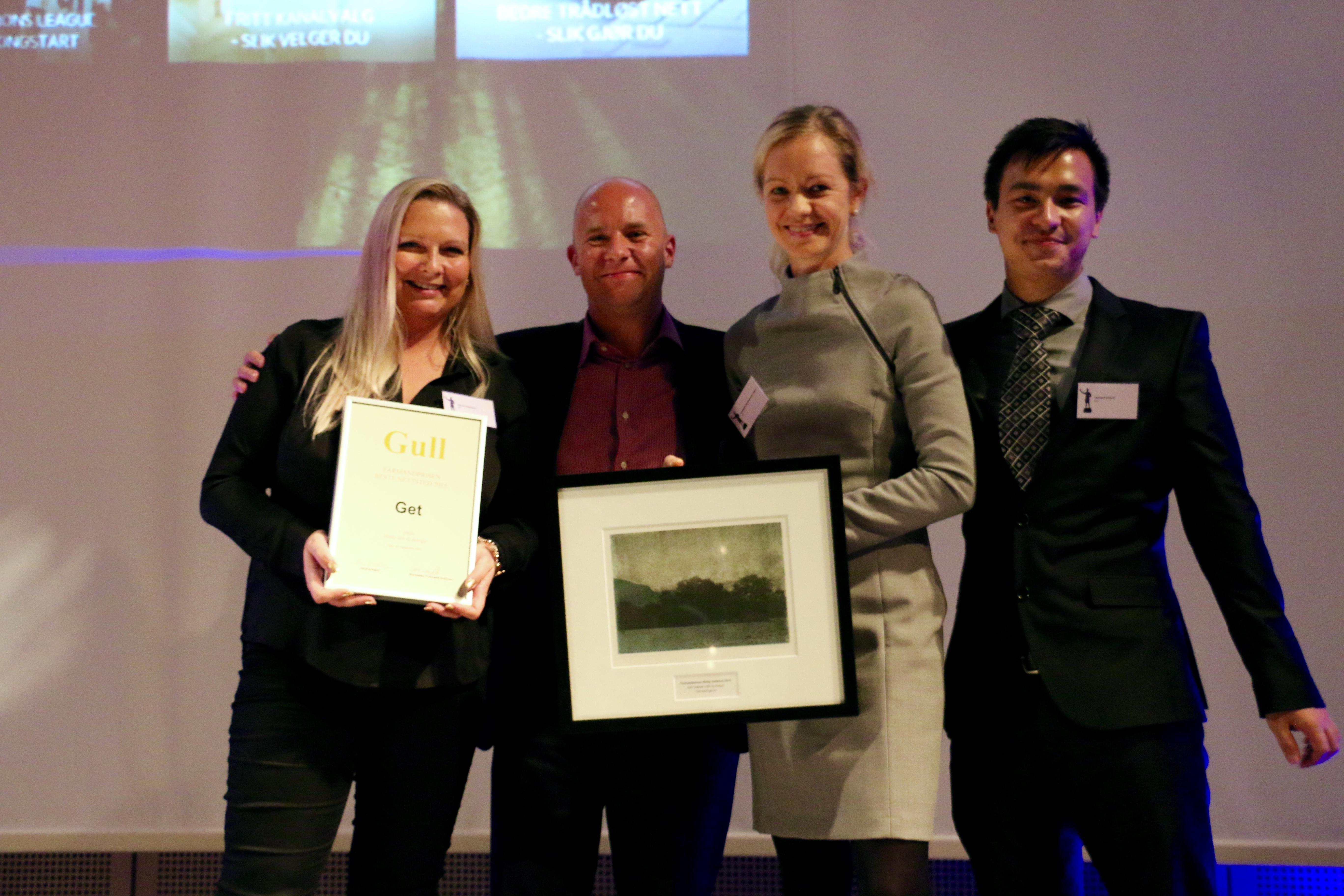 Farmandprisen Beste nettted 2015 - Beste Ide & design nr 1: Get (get.no)