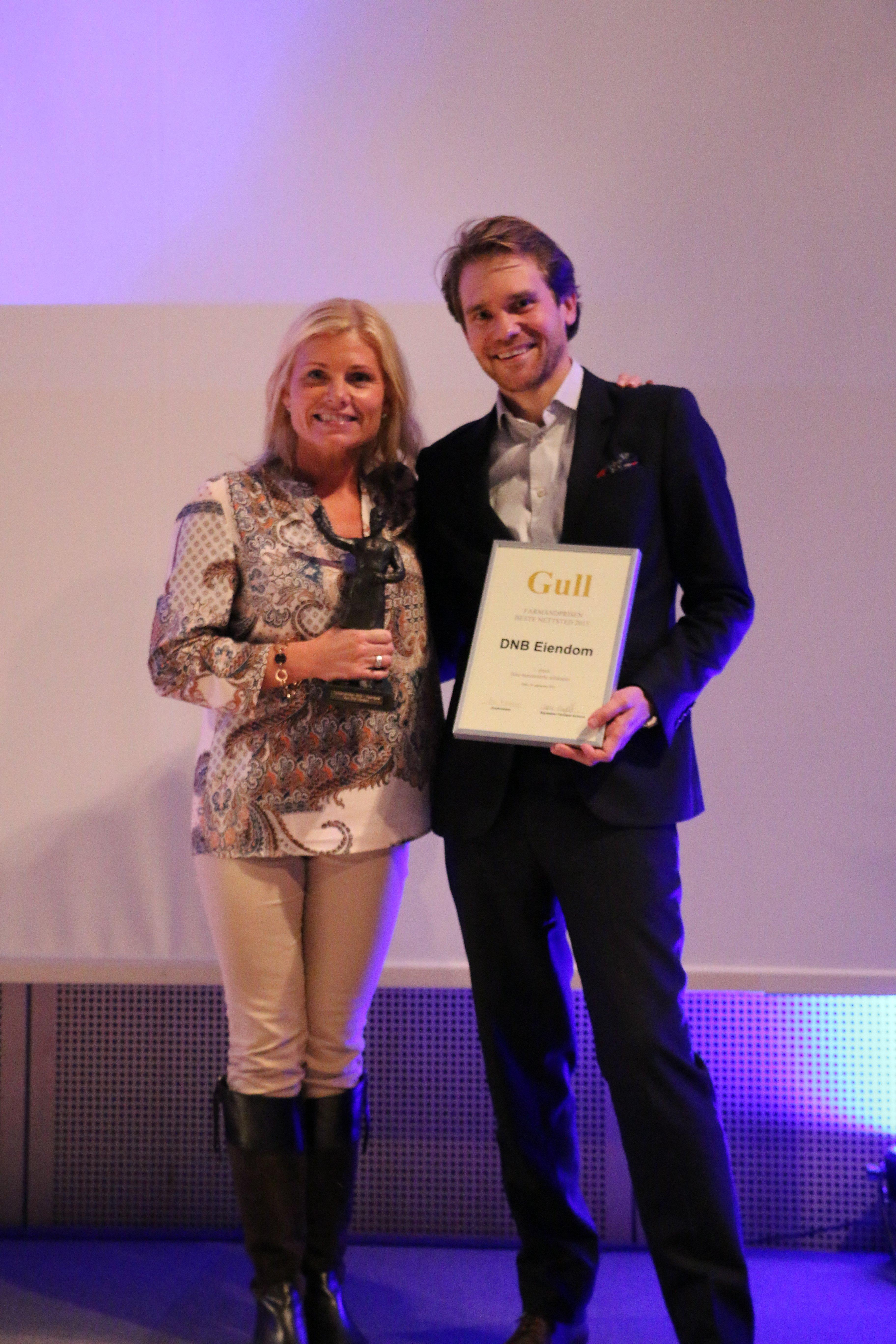 Farmandprisen Beste nettted 2015 - Ikke-børsnoterte selskaper nr. 1: DNB Eiendom (dnbeiendom.no)