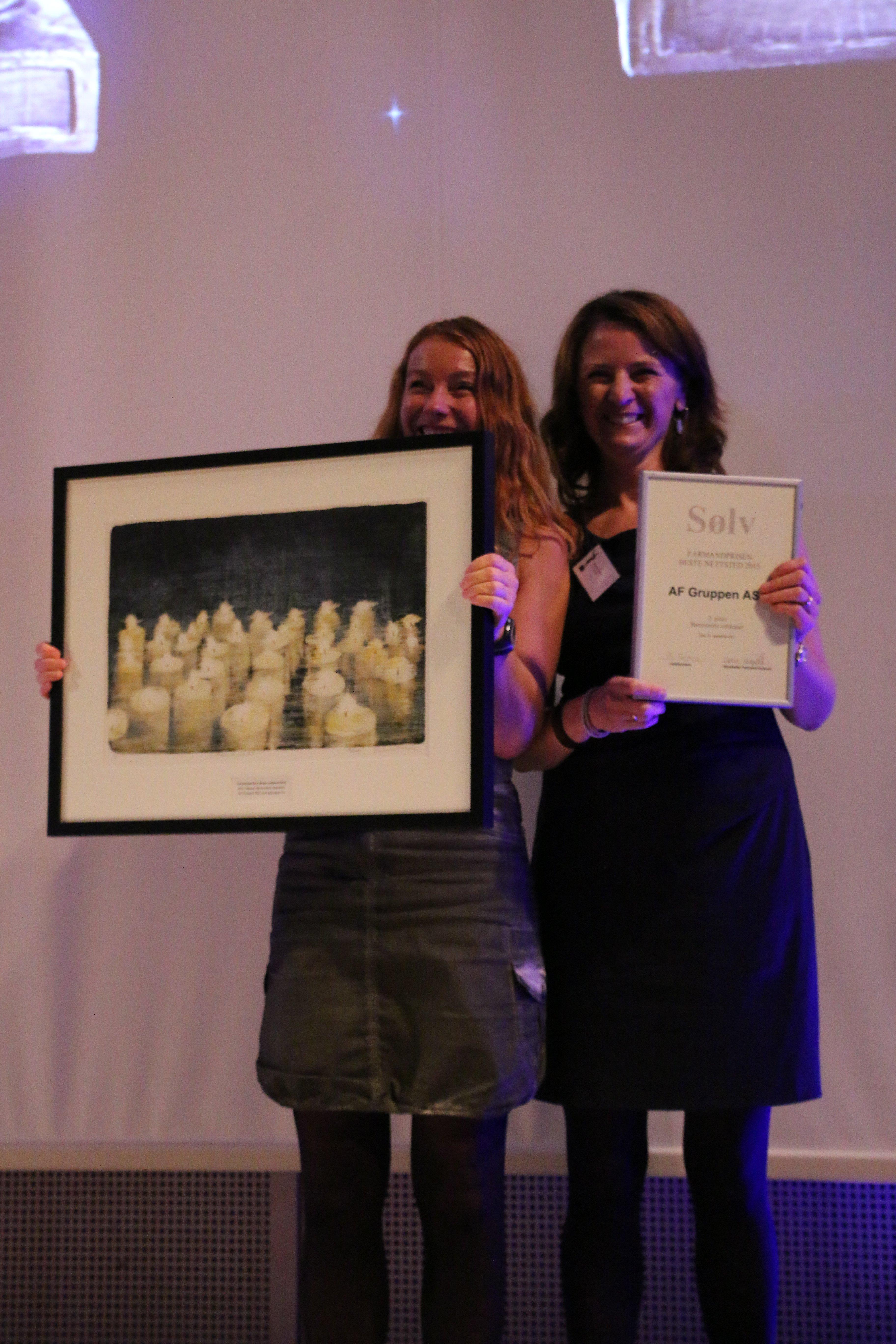 Farmandprisen Beste nettted 2015 - Børsnoterte selskaper nr. 2: AF Gruppen (afgruppen.no)