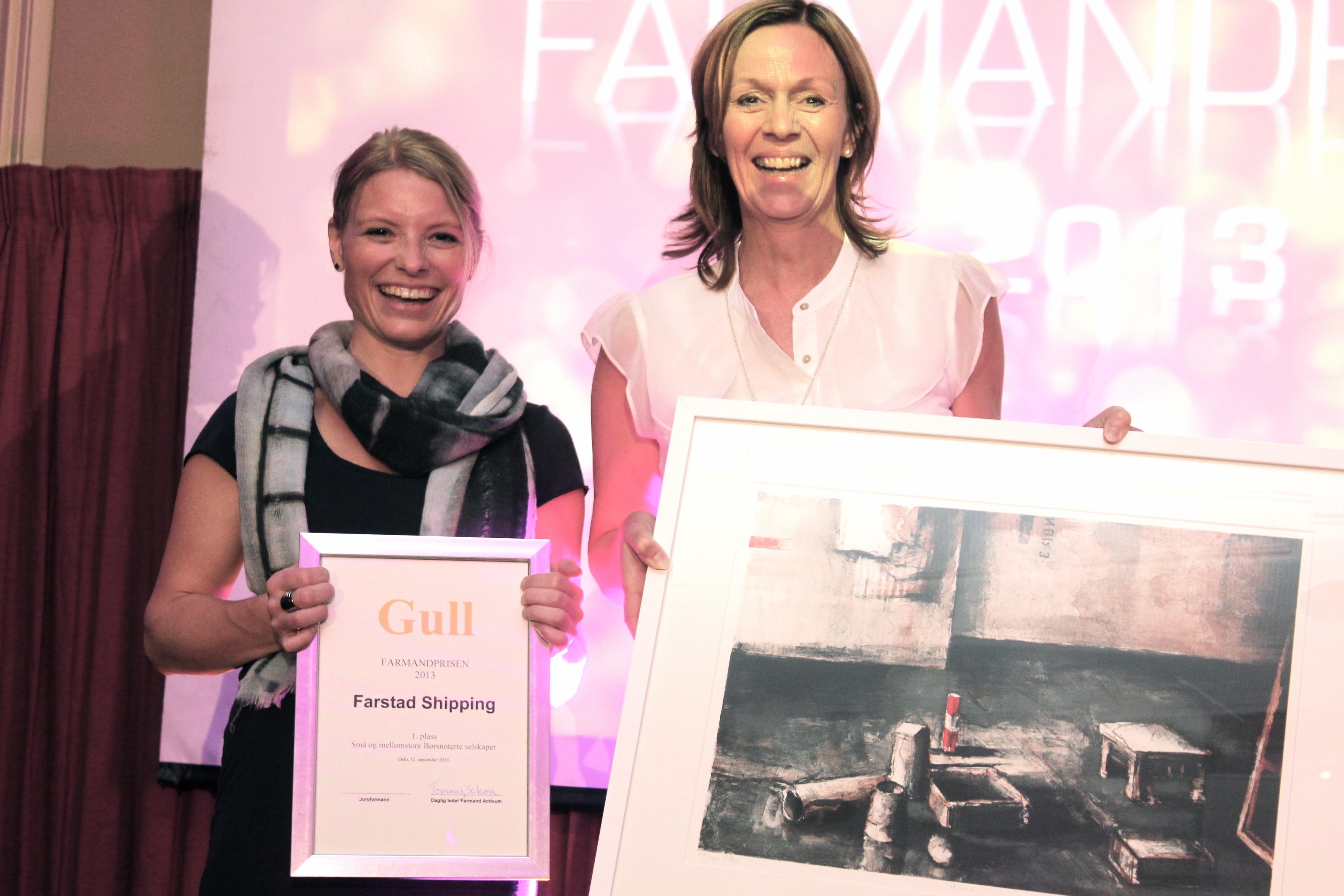 Farmandprisen Beste Årsrapport 2013 - Små og mellomstore børsnoterte selskaper nr 1: