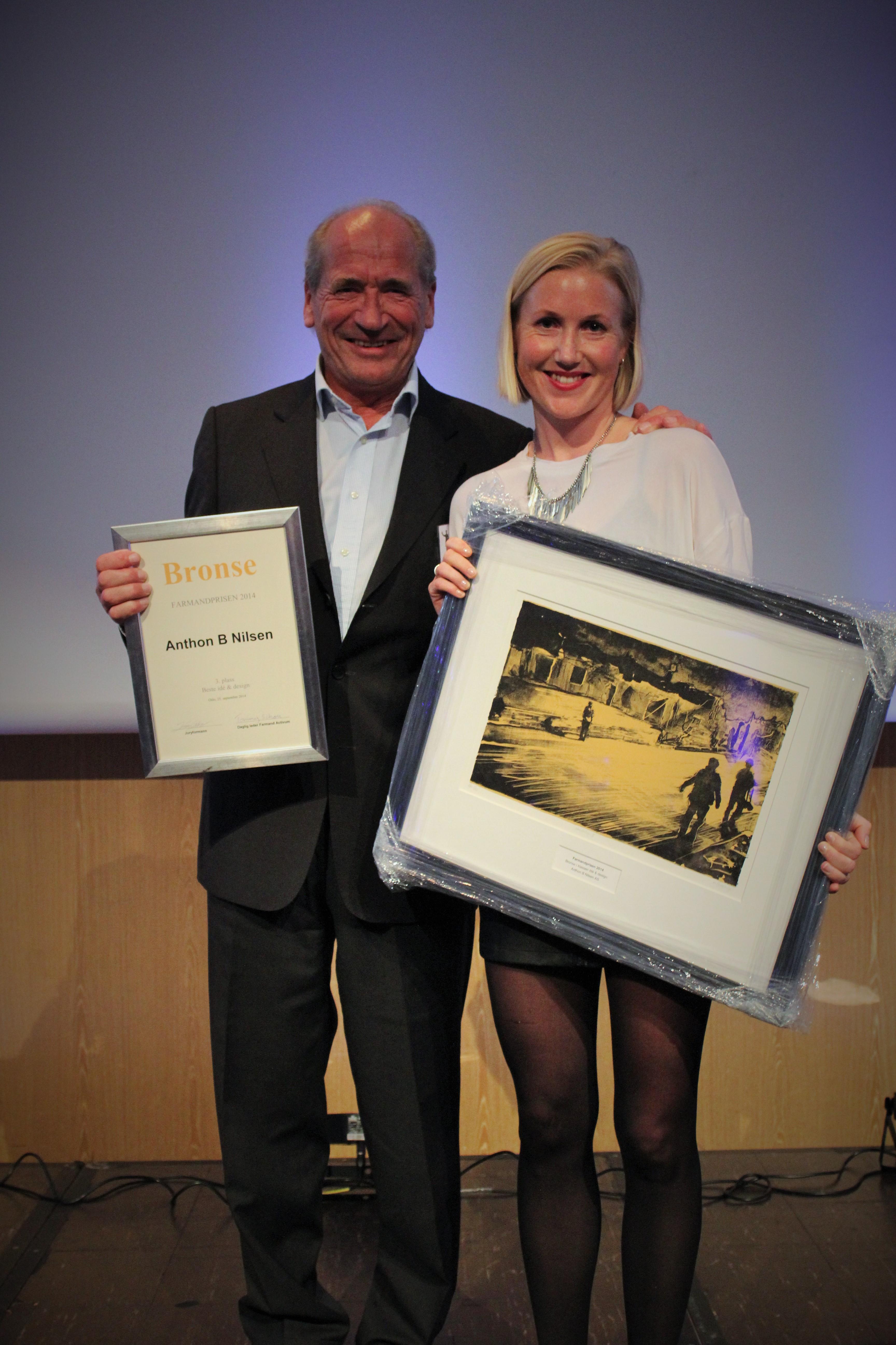 Farmandprisen Beste Årsrapport 2014 - Beste Ide & design nr 3: Anthon B Nilsen