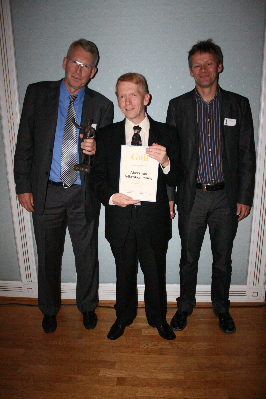 Akershus fylkeskommune - 1. plass Offentlige virksomheter
