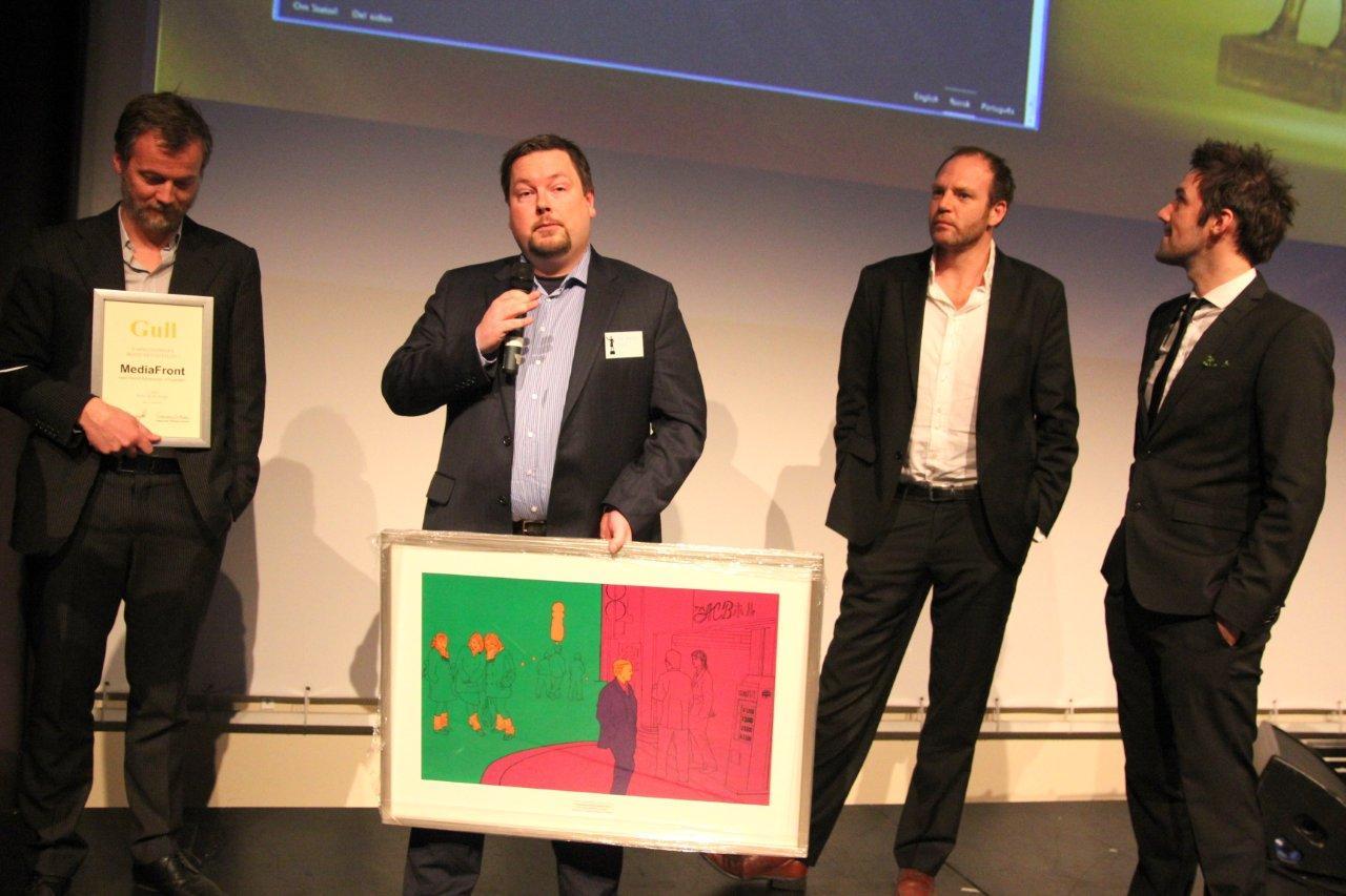 Mediafront/McCann/SDG - 1. plass i Beste Ide & design