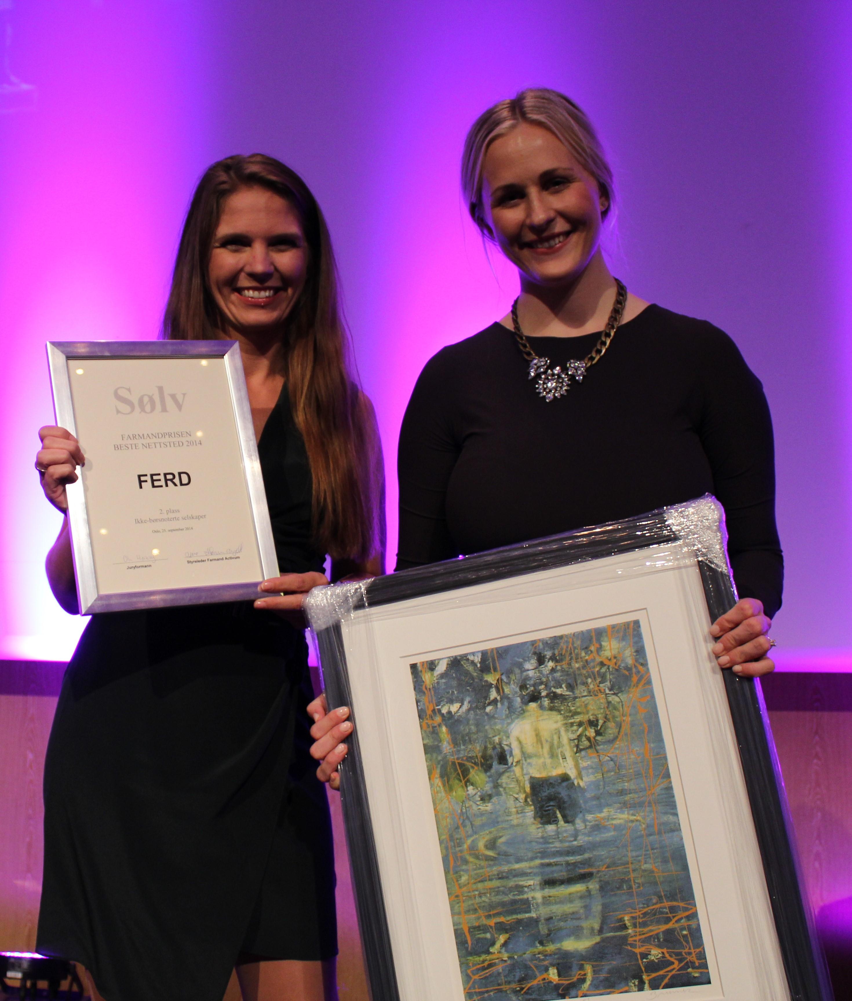 Farmandprisen Beste nettted 2014 - Ikke-børsnoterte selskaper nr. 2: FERD