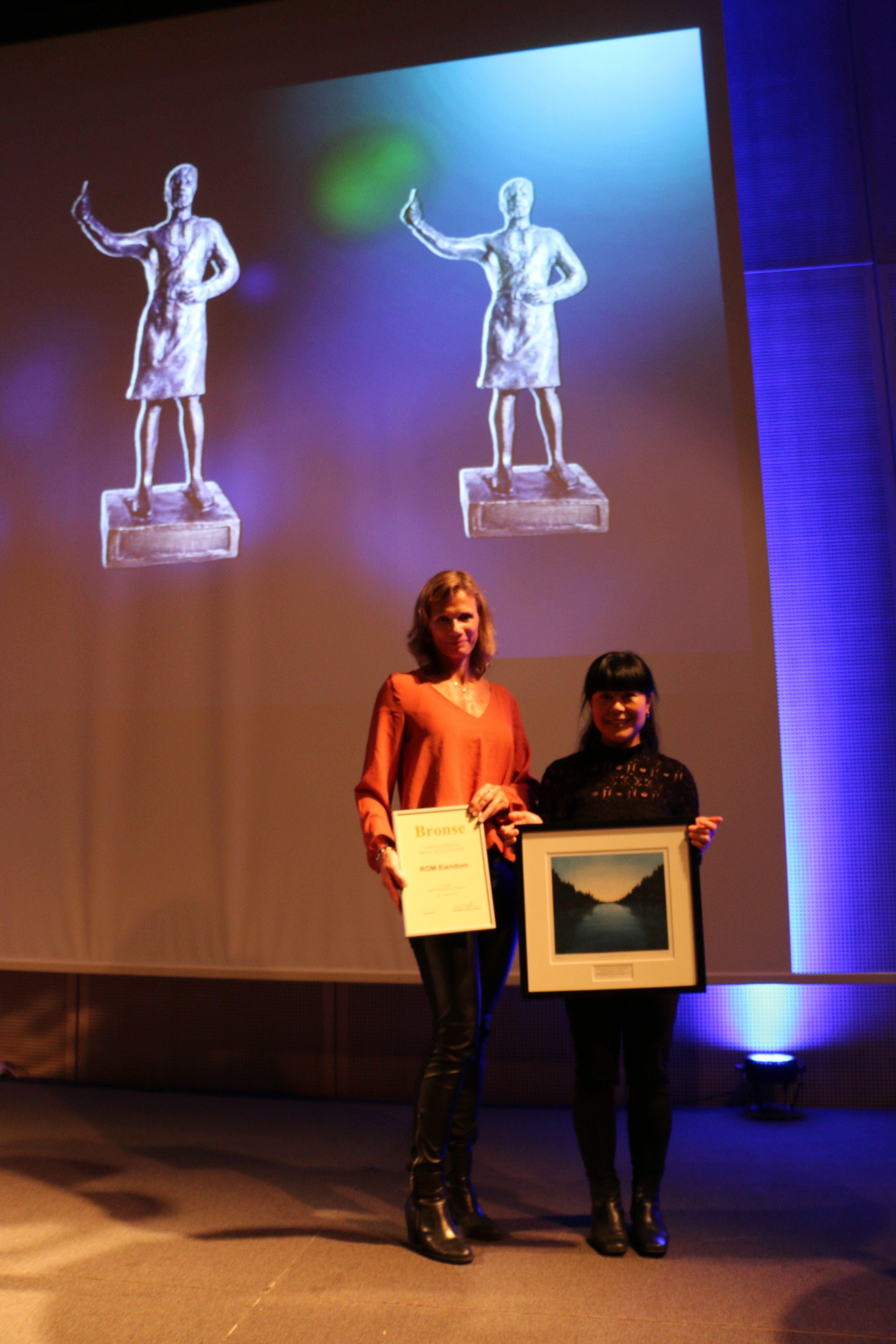 Farmandprisen Beste nettted 2015 - Ikke-børsnoterte selskaper nr. 3: ROM Eiendom (romeiendom.no)