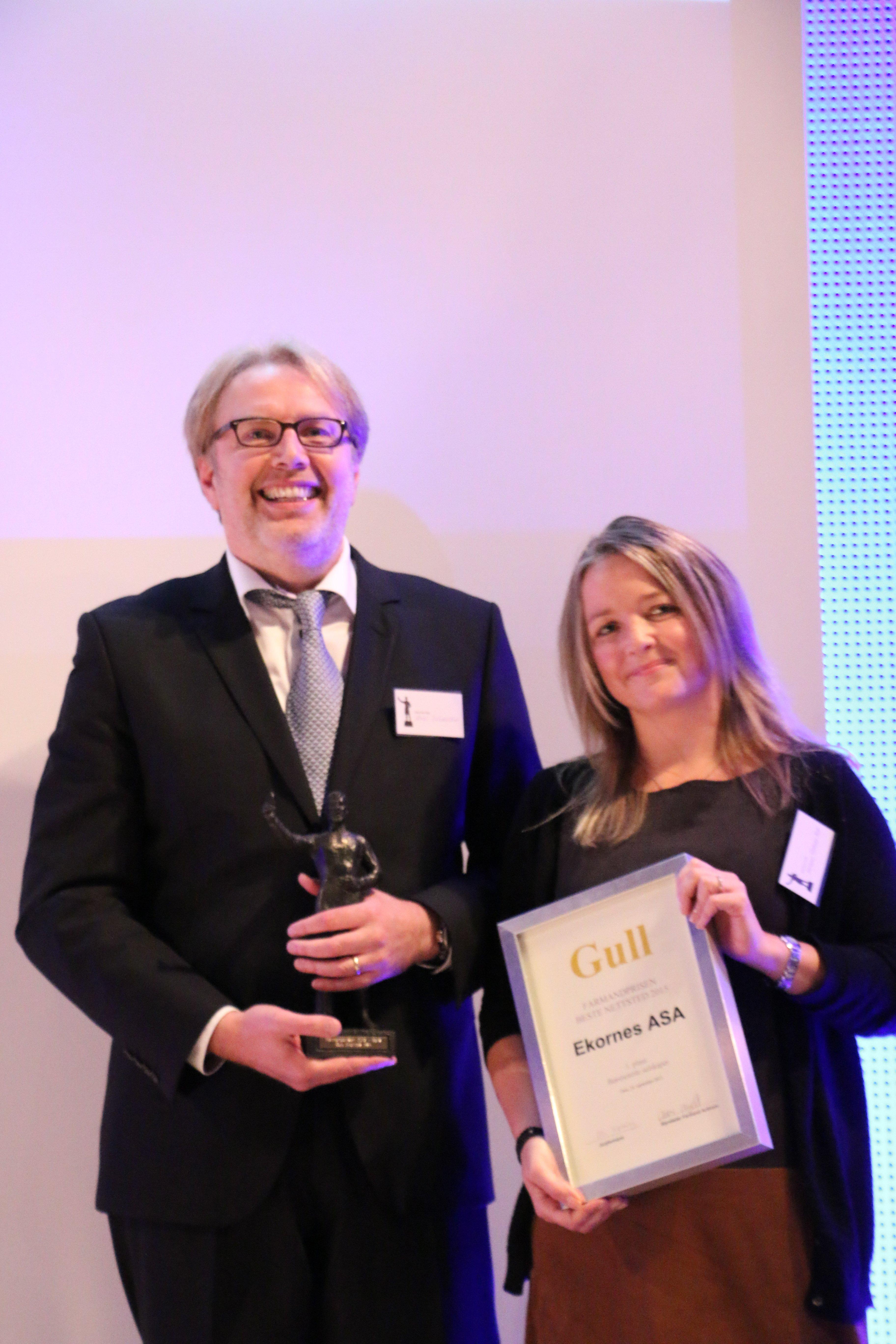 Farmandprisen Beste nettted 2015 - Børsnoterte selskaper nr. 1: Ekornes (ekornes.com)