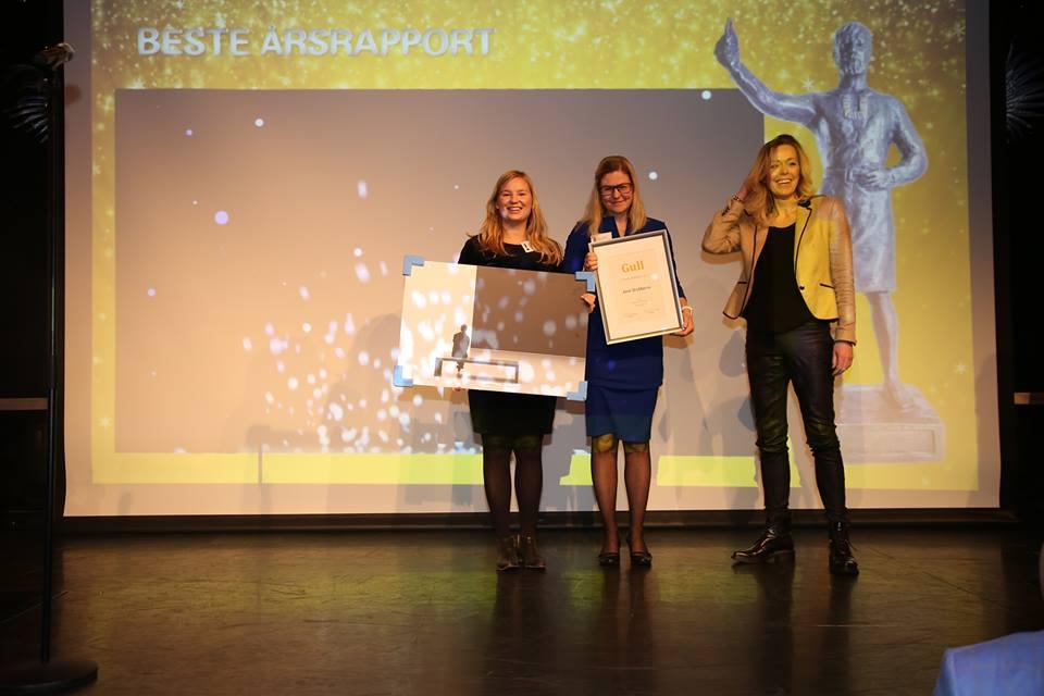 Årsrapport Beste Ide & design - 1. plass Aker BioMarine